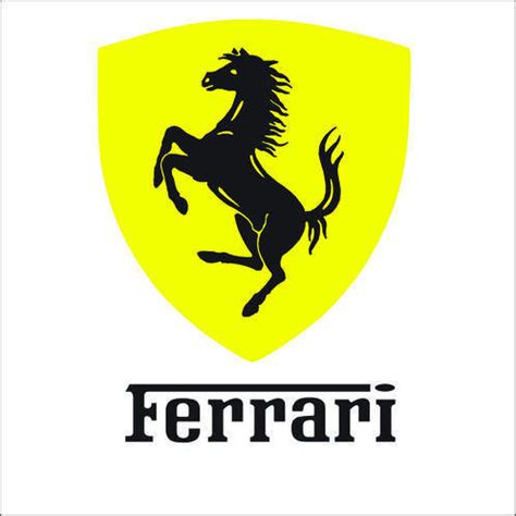 Aufkleber Ferrari Pferd by Stickers Logo Ferrari Id 233 E D Image De Voiture