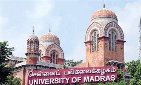 Of Madras Mba Placements 2015 by Madras Ug Pg Results Nov 2017 Released Unom