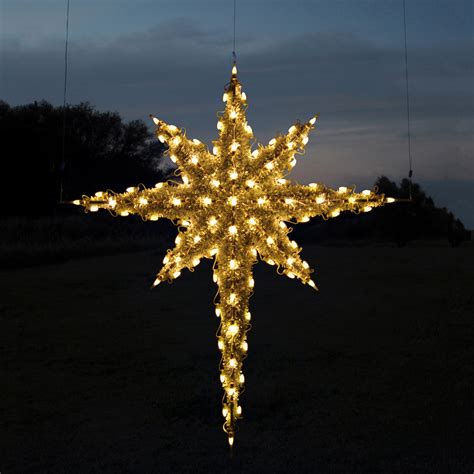 christmas star lights outdoor shop holiday lighting specialists 6 83 ft moravian star