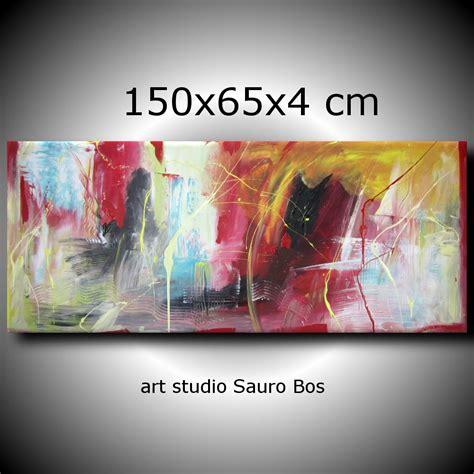 quadri moderni soggiorno quadri astratti per soggiorno moderno 150x65 sauro bos