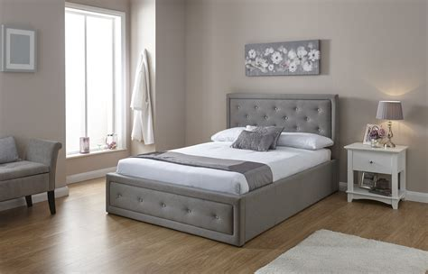 5 Gray To Lift Up Your Day by Grey Fabric Ottoman Storage Lift Up Bed With
