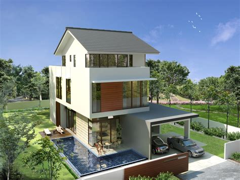 modern home design malaysia modern house plans bungalow modern house
