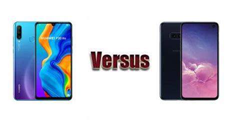 Huawei P30 Vs Samsung Galaxy S10e by Huawei P30 Lite Vs Samsung Galaxy S10e Comparaci 243 N De Caracter 237 Sticas