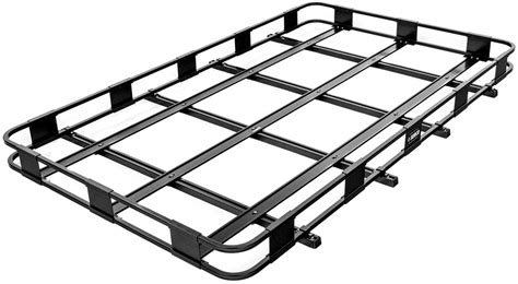 surco safari roof rack surco safari rack 5 0 rooftop cargo basket for thule roof racks 84 quot long x 50 quot wide surco
