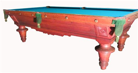antique pool table lot detail antique 1890 s pool table