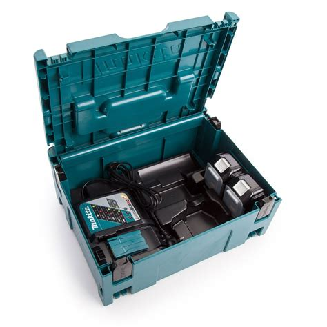 Vacum Table Type Crocodile Cvt124 makita 196866 5 power source kit inc 2x 4 0ah batteries dc18rc charger makpac type 2 carry