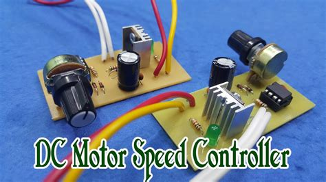 dc motor with speed how to make dc motor speed controller