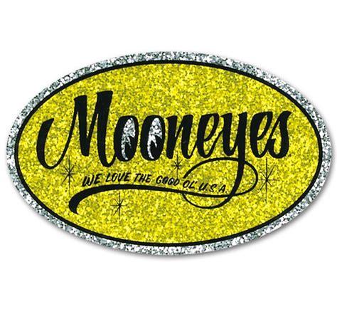 Emblem Mooneyes image gallery mooneyes decals