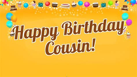 Happy Birthday Wishes For Cousin 40 Best Happy Birthday Cousin Wishes Quotes Status