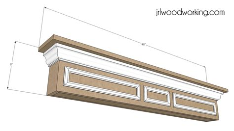 woodworking plans mantel shelf woodplansfree