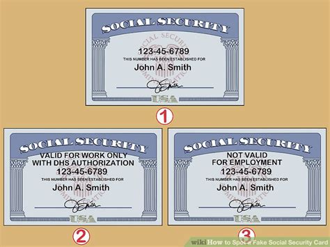 Social Security Document Number