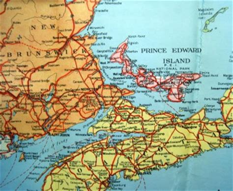 road map of eastern canada canadian government road map of eastern canada 1941 ebay