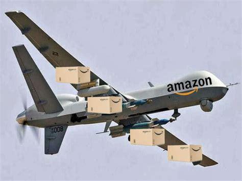 amazon drone brilliant marketing gimmick amazon drone on the north