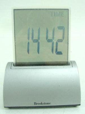 brookstone desk clock manual brookstone digital clock temperature date timer desktop