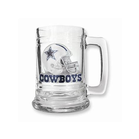 Home Decor Stores In Dallas Tx by Dallas Cowboys 15oz Glass Tankard Etching Personalized
