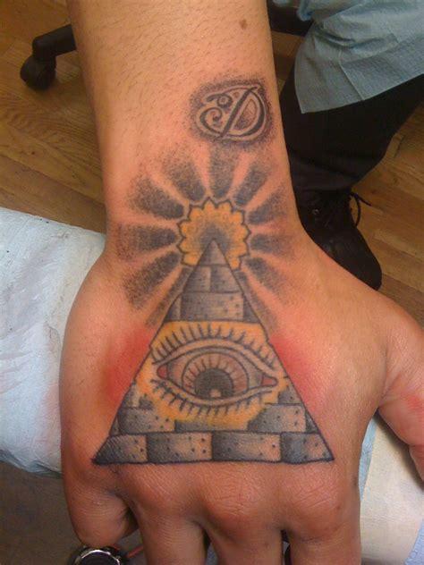 tattoo williamsburg triangle eye eye of providence eye