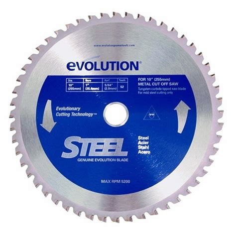 10 inch blade 10bladest steel cutting circular saw blade 10 inch x 52