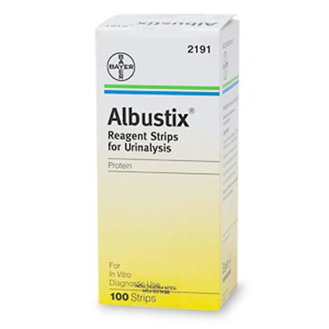protein 100 in urine albustix 174 reagent strips tests for protein in urine 100