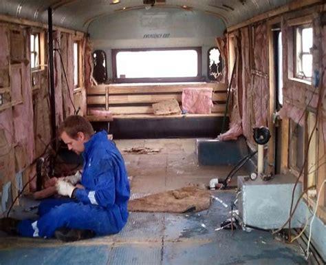 imagine living on a school bus like this 20 pics