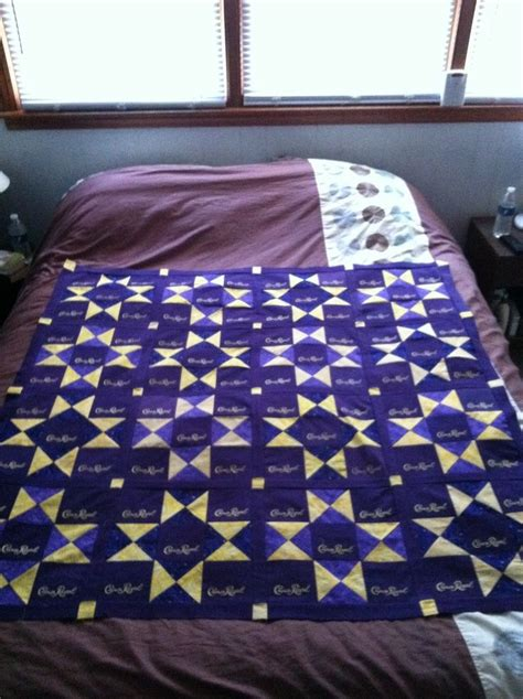 crown royal quilt bed scarf crown royal quilt bed scarf crown royal bags uses ohio star crown royal quilt used