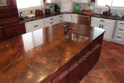 Best Product For Kitchen Countertops by High Polished Brown Bronzite Granite Table Top Kitchen