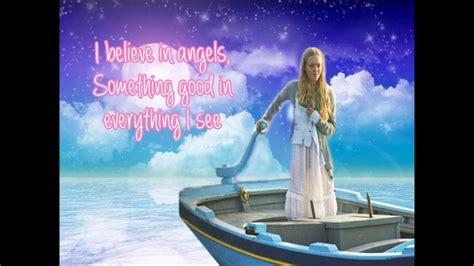 amanda seyfried i have a dream lyrics mamma mia the movie i have a dream lyrics video full song