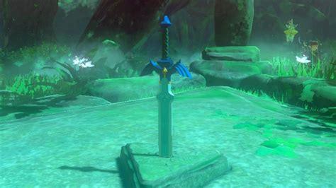pedestal zelda breath of the wild zelda breath of the wild how to obtain the master sword