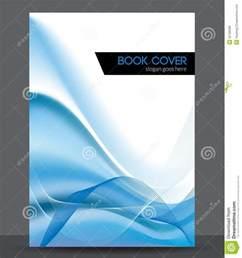 blue wave vector brochure booklet cover design t royalty