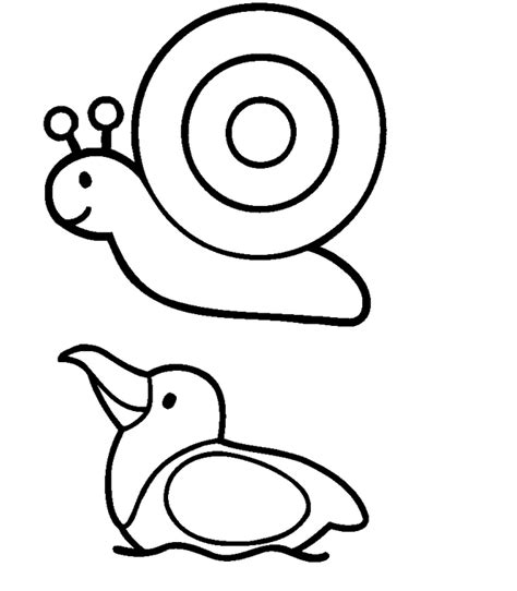 coloring pages simple animals farm animal drawings cliparts co