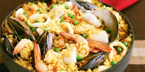 cucinare la paella di pesce ricetta paella di pesce roba da donne