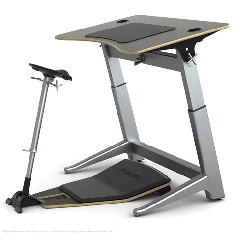 focal locus workstation standing desk with seat shop focal