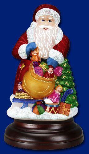 32 Best Images About Merck Old World Christmas Santa Claus World Santa Lights