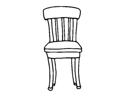 silla dibujo imagenes de una silla para colorear de madera imagui