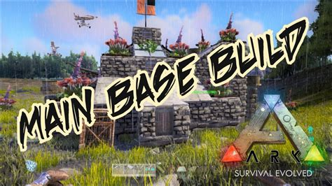 how to make a boat base in ark ark primitive extinction series main base build and