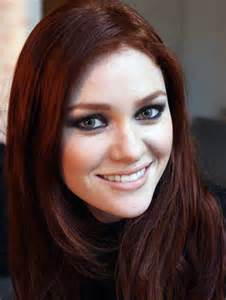 medium auburn hair color medium burgundy brown ion inofashionstyle
