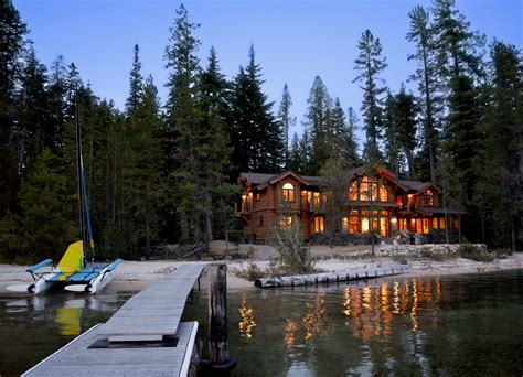 mountain lakes house mountain architects hendricks architecture idaho mountain and lake home curb appeal