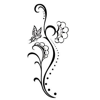 tattoo mawar design tatoo bunga clipart best