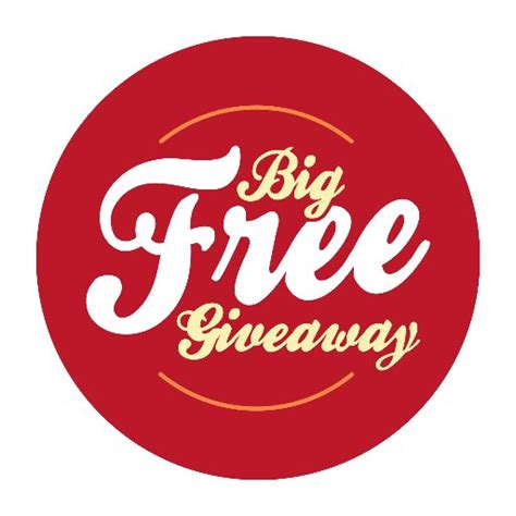 Sweepstakes Free - big free giveaway bigfreegive twitter