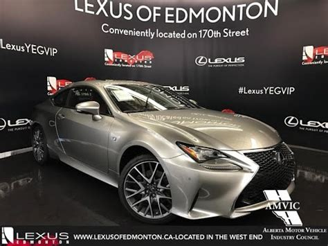 lexus rc f silver 2017 atomic silver lexus rc 350 awd f sport series 2 in