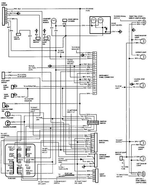 Wiring Diagram For 1993 Chevy Suburban - Complete Wiring