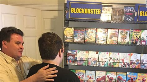 blockbuster at home plans his son s favorite blockbuster store is closing so dad