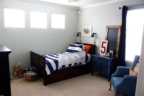 boys gray bedroom tom s room reveal