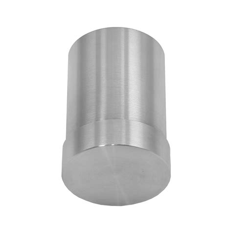 banister caps handrail end cap 42mm circular stainless steel metal