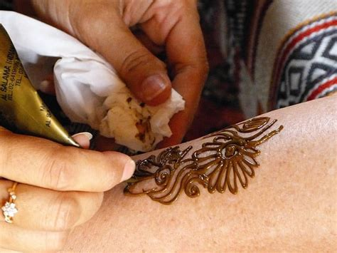 how to remove a henna guide and dyi