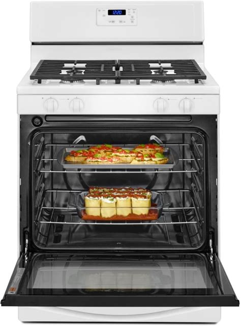 Broiler Drawer Oven by Whirlpool Wfg320m0bw 30 Inch Freestanding Gas Range With 5