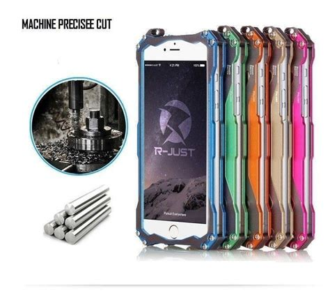r just 174 apple iphone 6 6s gundam aluminium alloy dual color oxidation metal back cover