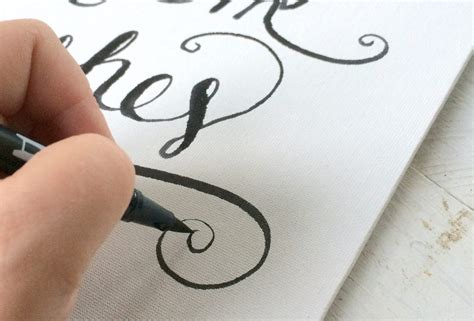 tutorial membuat hand lettering hand lettering tutorial salt life blog