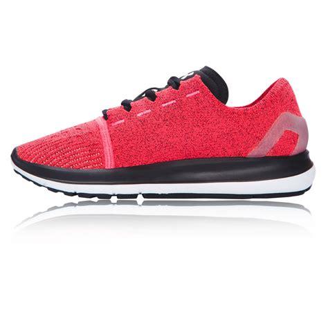 womens pink sneakers armour speedform slingride womens pink sneakers