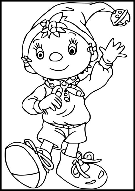 81 Noddy Coloring Pages Online Pin By Lmi Kids On Noddy Colouring Pages