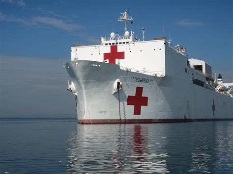 Usns Mercy And Comfort Cold Comfort Trump S Refusal To Send Hospital Ship Tips